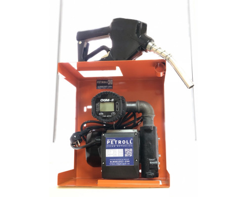 Мини АЗС Petrol Silve 60 л.м для перекачки ДТ с электронным учетом OGM 2 - Колонки для ДТ 220В