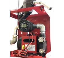 Мини Азс DYB 12 v 70 л мин для перекачки ДТ с электронным счетчиком