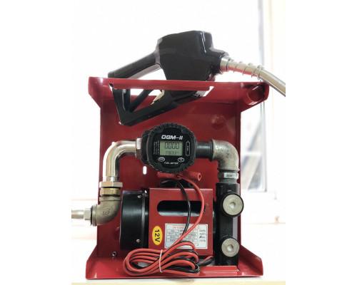 Мини Азс DYB 12 v 70 л мин для перекачки ДТ с электронным счетчиком -