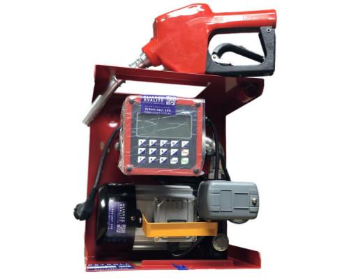 Мини АЗС АВТО-СТОП Petroll Pulsar 80Q c электронным счетчиком 220В, 80л/мин - Колонки для ДТ 220В