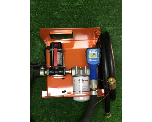 Мини АЗС 12 в BZL для перекачки дизеля с электронным счетчиком - Колонки для ДТ 12/24В