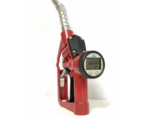 Пистолет заправочный c отсекателем электронный счетчиком Petrolium DLY 25s - Заправочные пистолеты