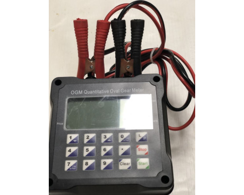 Счетчик учета топлива 12v OGM 25 q с пред набором - Счетчики электронные
