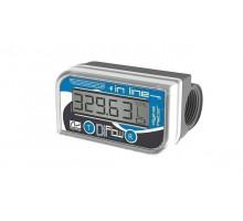 Электронный счетчик IN-LINE для дизельного топлива, масла, 10—150 л