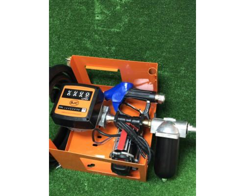 Мини АЗС для перекачки дизеля с механическим счетчиком FM-120 - Колонки для ДТ 12/24В