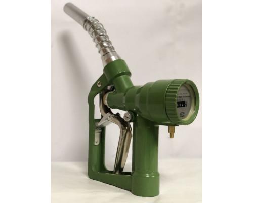 Пистолет заправочный без отсекателя с механическим счетчиком Petrolium LLY25с - Заправочные пистолеты