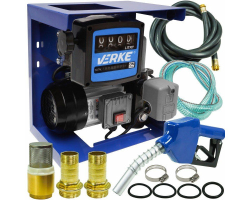 АЗС для заправки дизтоплива 70л/мин AUTO_STOP - Колонки для ДТ 220В