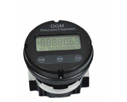 Счетчик топлива Petrolleum OGM 25E 60 л.мин расходомер для дизеля - Счетчики электронные